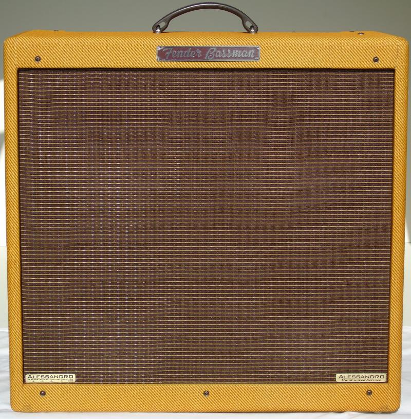 Alessandro Fender '59 Bassman High-End Hand-Wired Amplifier