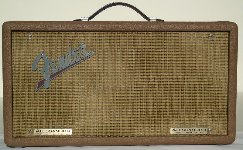 Alessandro Fender '63 Tube Reverb High-End Hand-Wired Amplifier