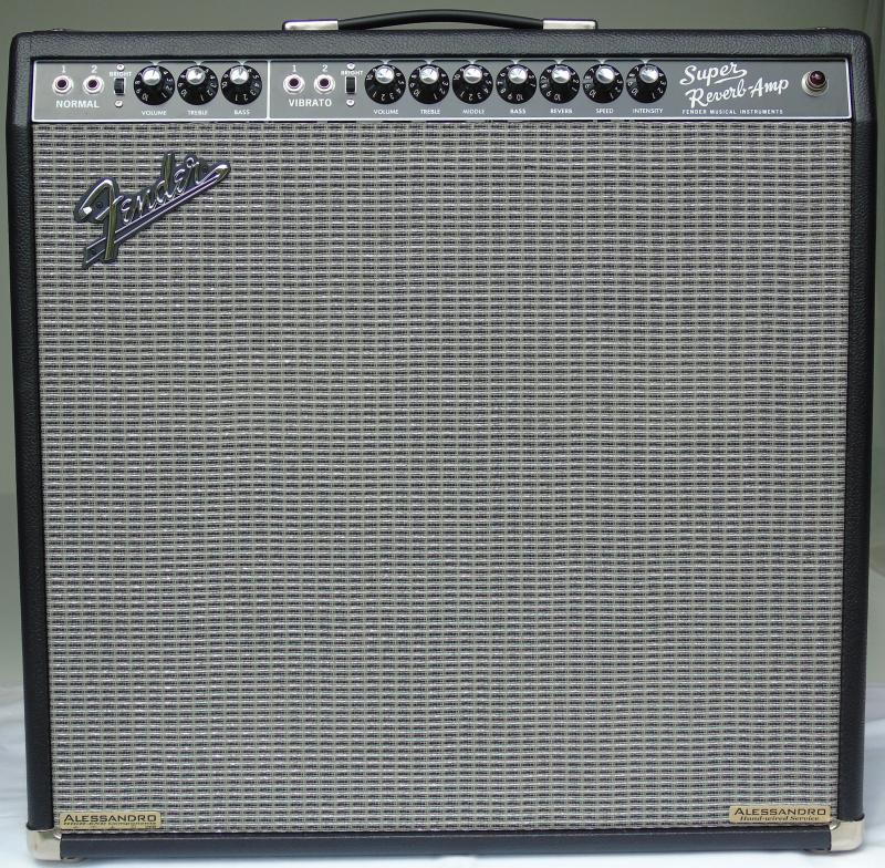 Alessandro Fender '65 Super Reverb High-End Hand-Wired Amplifier