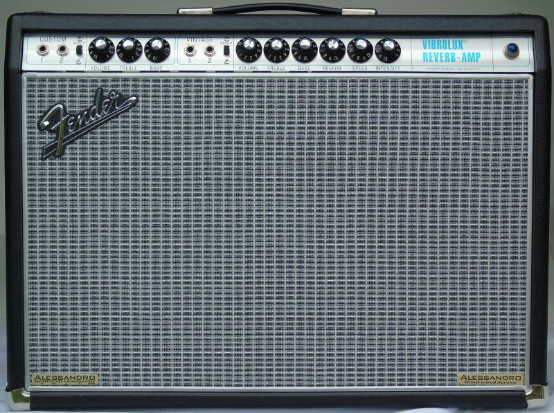 Alessandro Fender '68 Vibrolux Reverb High-End Hand-Wire