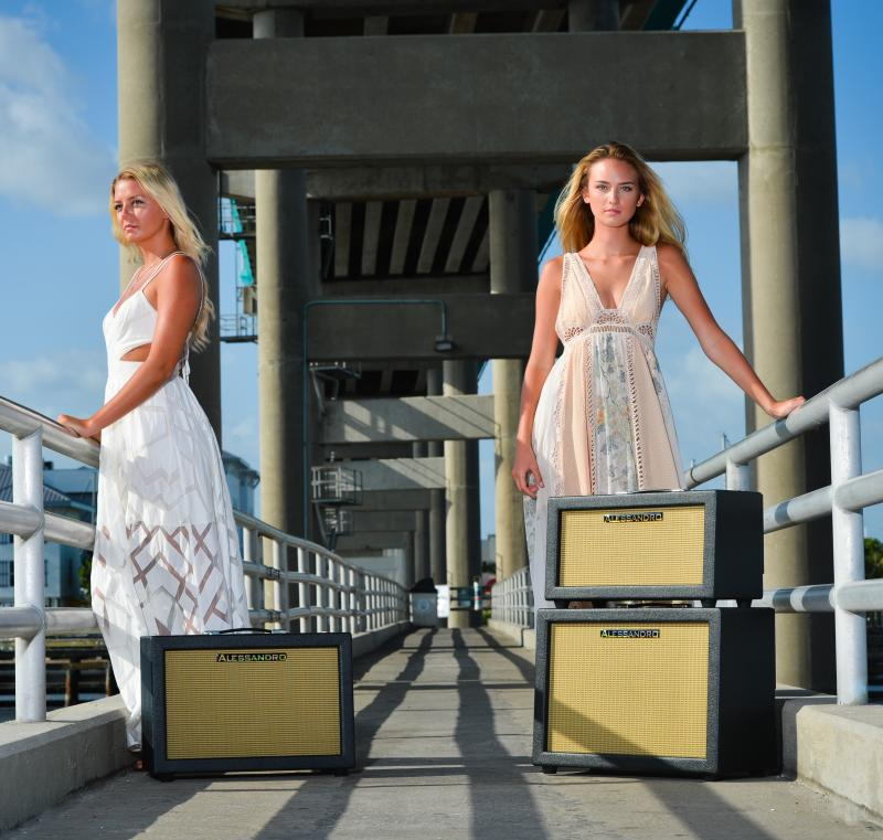 Alessandro Crossbred Mutts and Models on Pier