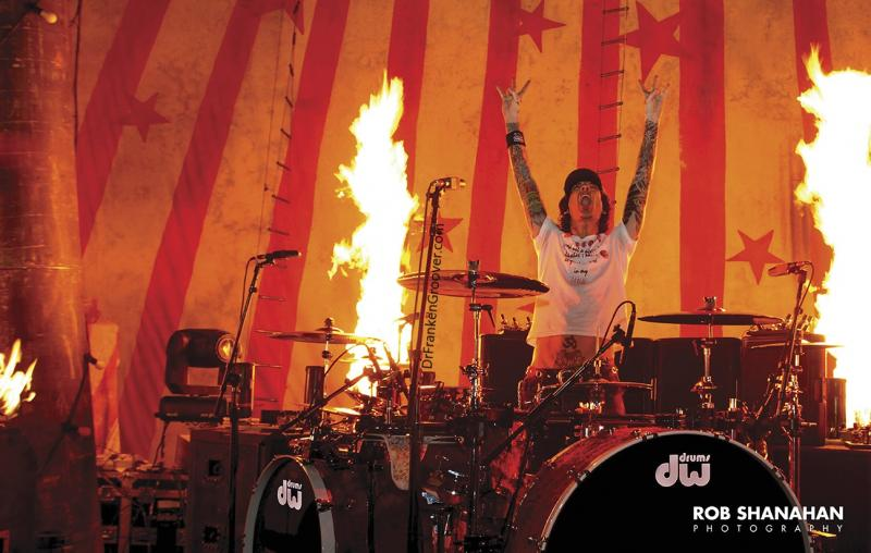 Tommy Lee, On Fire by Rob Shanahan