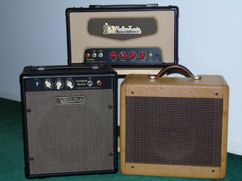 ValveTrain Amplifiers, Trenton, Lexington Reverd and 205